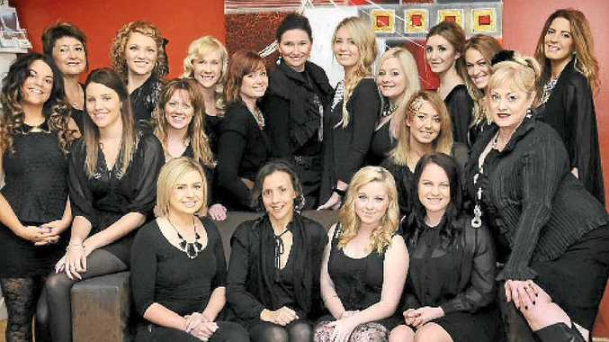 The staff from Gympie's Hair Review hair salon has been nominated for the ASPYA Australian Salon of the Year again.