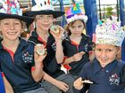 Brightwater State School celebrates the Queen's Jubilee.