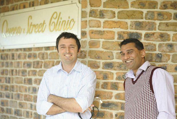 Dr Praveen Yadav and registered GP Dr William Coorey.