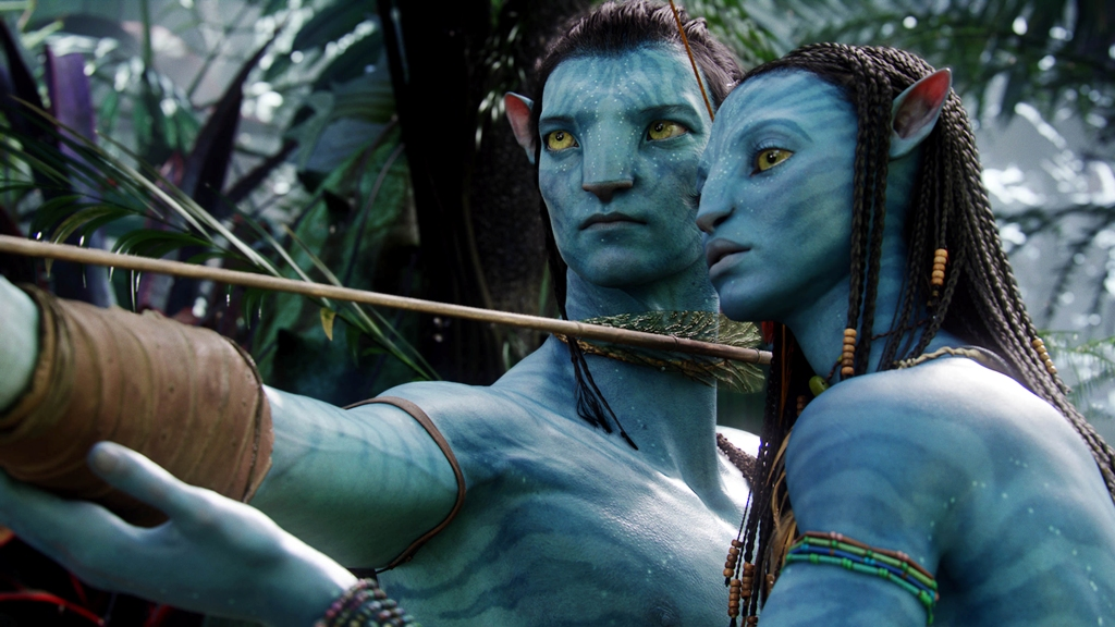 A scene from the box office smash hit Avatar.