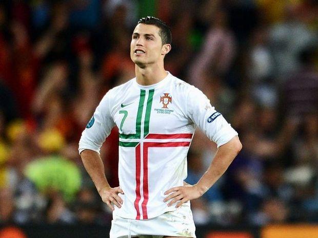 Real Madrid striker Cristiano Ronaldo.