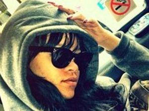 Rihanna evacuated from hotel fire