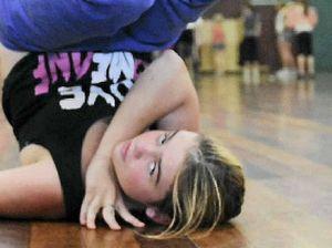 Dancers hop to it