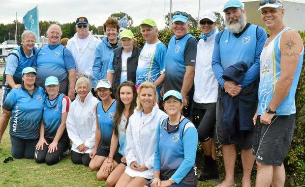 Grafton/Coffs Coast Dragon Boat Club members.