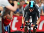Wiggins takes first points at Tour