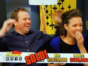 Brad and Lara win The Block