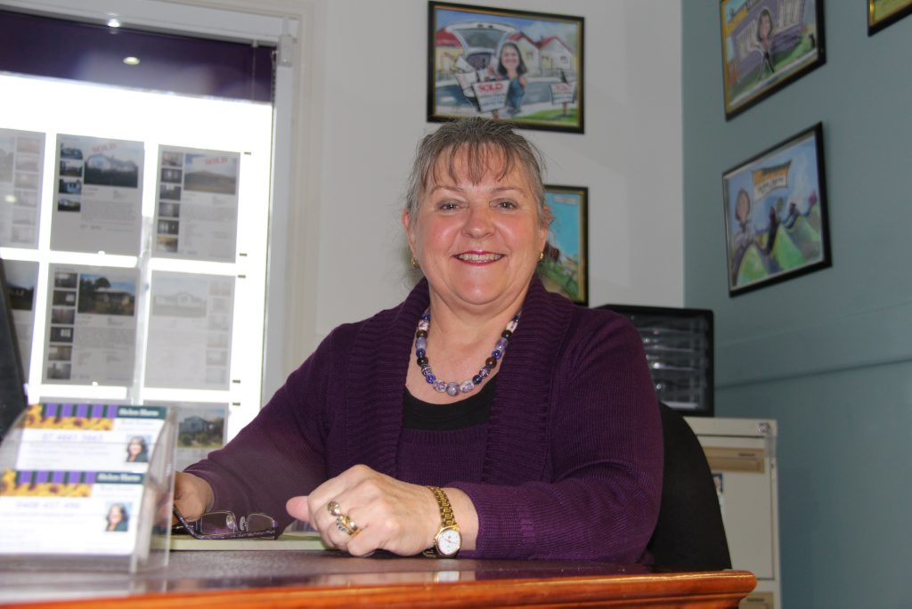 Warwick real estate agent Helen Harm sas the Southern Downs is ripe for long-term investors