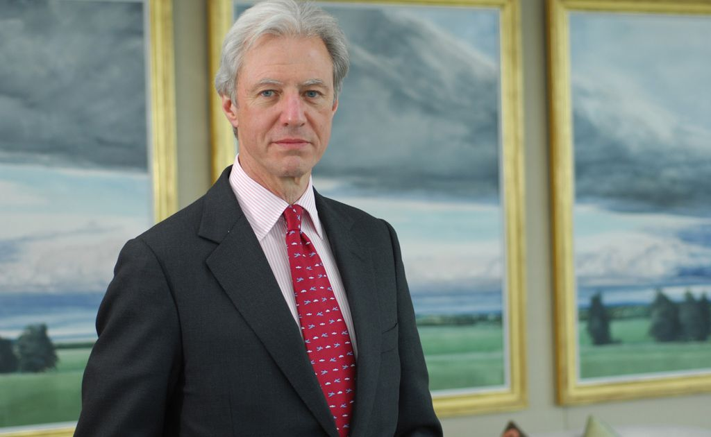 Marcus Agius, Chairman of Barclays Bank