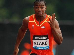 Blake beats Bolt again