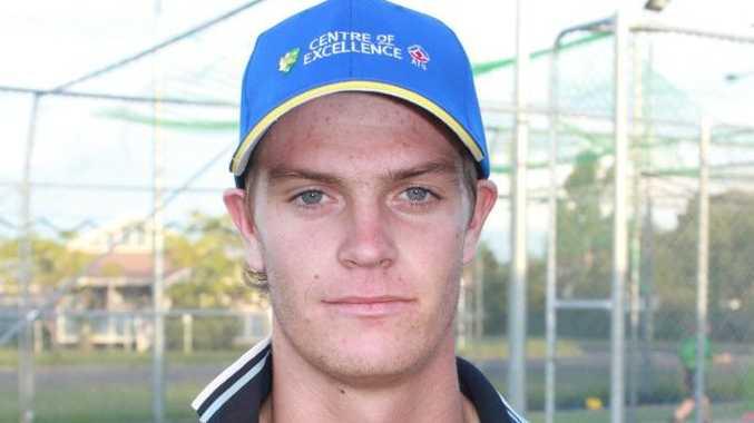 NATIONAL PLAYER: Australian under-19 paceman Mark Steketee. Photo Gerard Walsh / Warwick Daily News