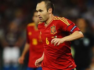 Iniesta named top Euro 2012 player