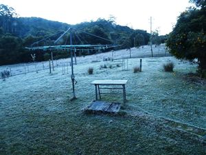 Jack Frost visits the region