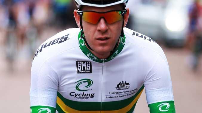Australian cyclist Matt Goss.
