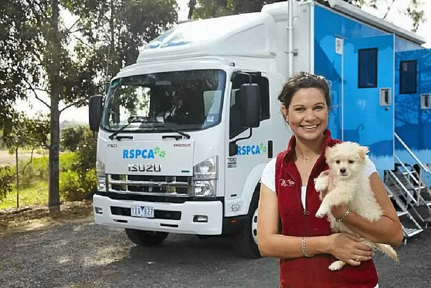 RESCUE VEHICLE: The RSPCA's Mobile Animal Care vehicle aims to offer animals the best of care on the go.