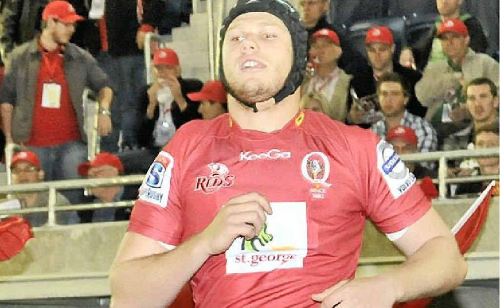 Former Sunshine Coast Stingray Blake Enever has won the favour of Reds coach Ewen McKenzie.