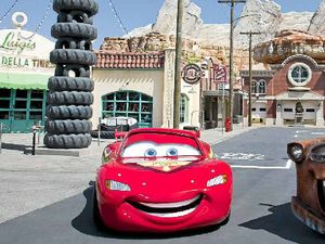 All roads lead to Cars at Disney
