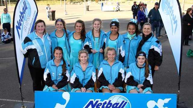 Coffs Harbour's state championship winning Under 15 girls side.
