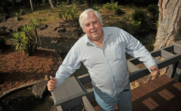 Clive Palmer has big plans for his resort at Coolum.