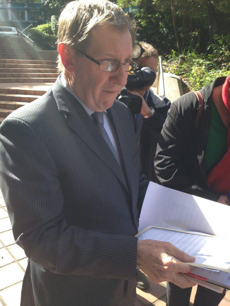 Former housing minister Bruce Flegg