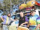 Kingaroy's Ricko Reick, Neil Jones and Les Porter are ready to hit the road for this year's Great Endeavour Rally.