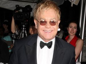 Sir Elton John handed first Brits Icon award by Rod Stewart