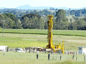 Protesters and police clash at CSG site