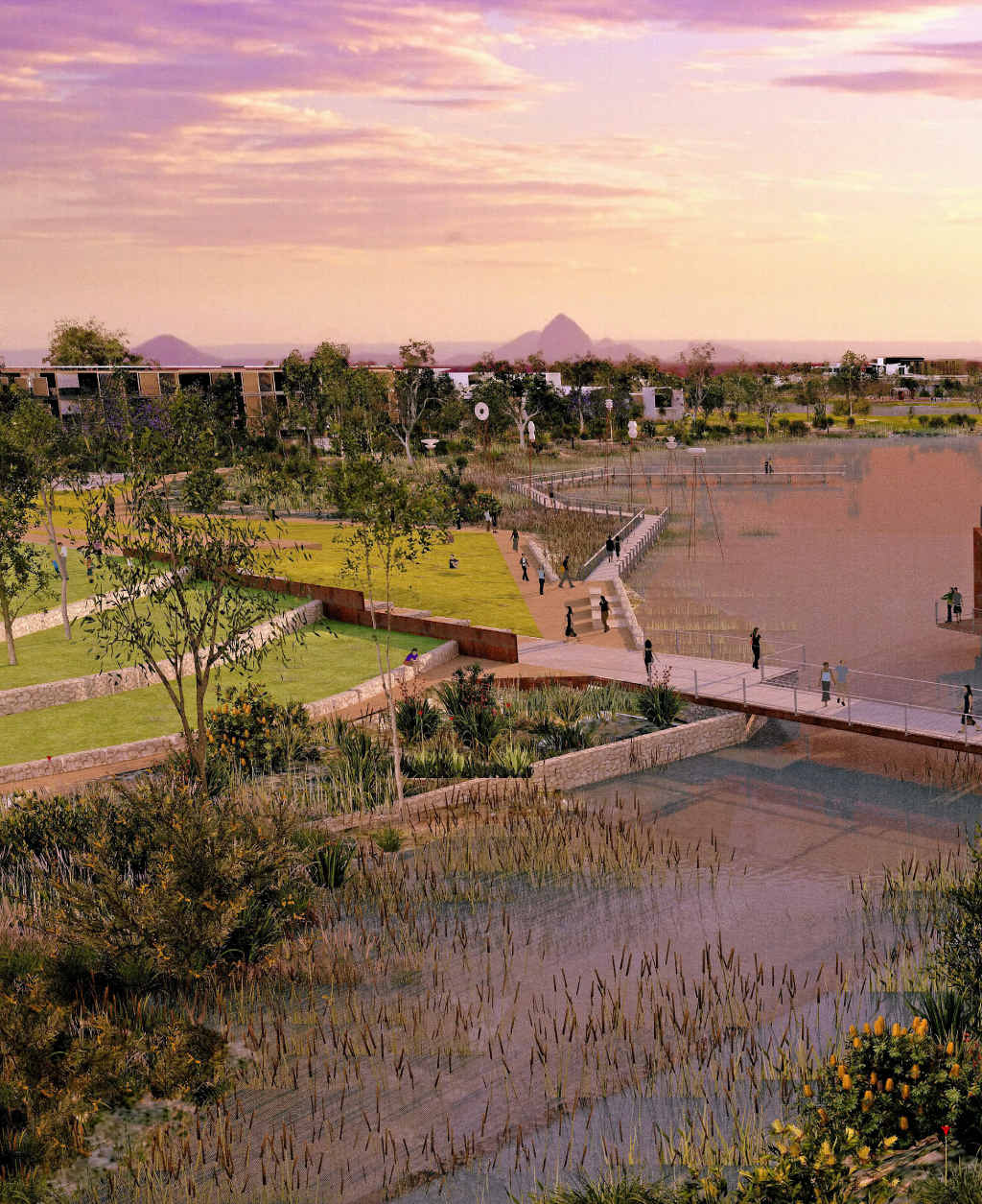 Caloundra South will become home to 50,000 people.