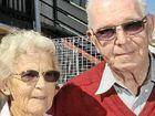 WATER LEAK: Ethel and William Andrews of Nambour.