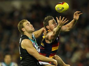 Crows demolish Port Adelaide