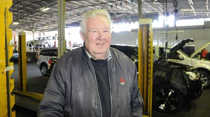 Graham Hunt retires after a long career as a mechanic. Graham started work in 1959.