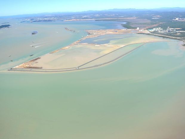 Gladstone Harbour in 2012.
