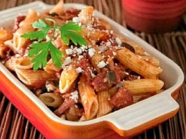 Cacciatore sausage penne is an easy to make winter favourite.