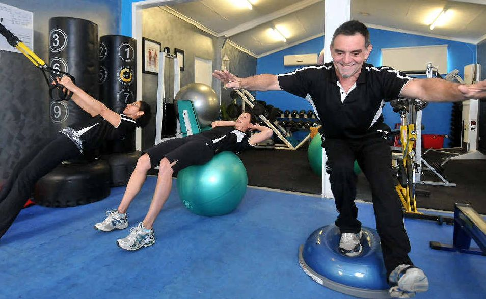 B&M; Personal Trainers' Maria Surian, Mellisa Gaviglio and Bruno Surian will offer specialised group sessions for those with Type 2 diabetes.