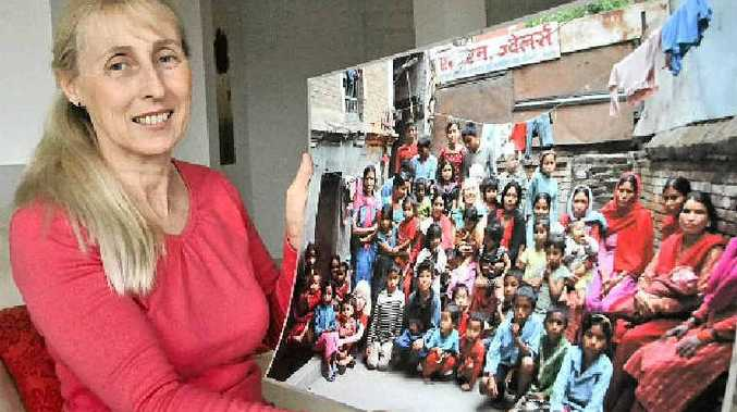 Alissa Hill from Sippy Downs has started a fund to build a children's home in Nepal.
