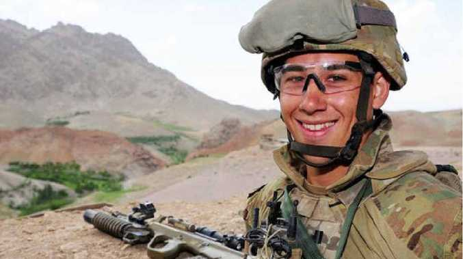 Private Matthew Sun is looking forward to returning home for a visit in Toowoomba after serving in Afghanistan.