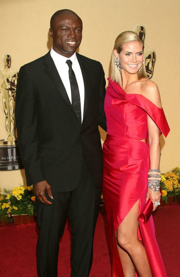 Seal and ex-wife Heidi Klum during happier times