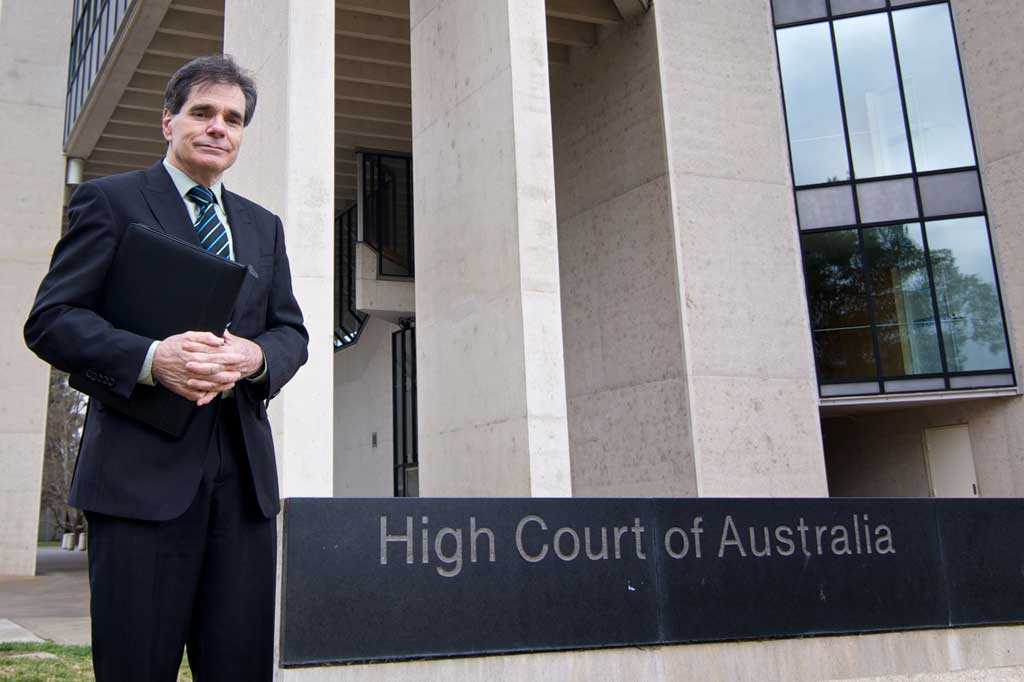 Ron Williams returns to the High Court next week.
