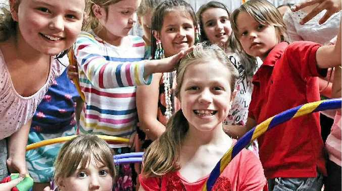 Budding actors warm up for NIDA Boot Camp
