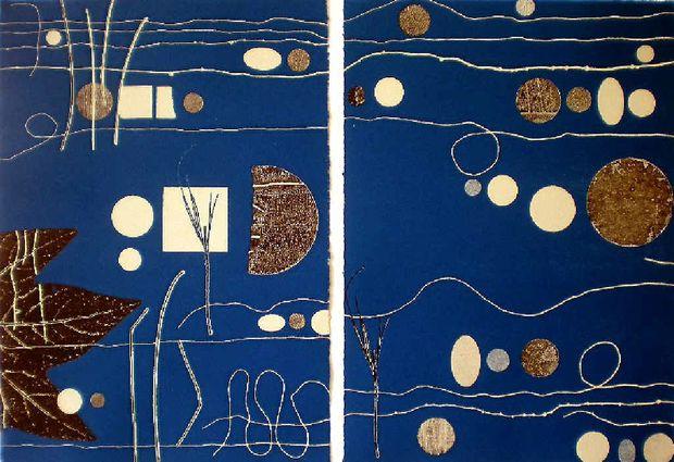 Short story in Blue by Jenny Kitchener