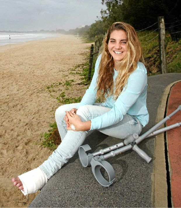 Ironwoman Danielle Allen, who is recovering from foot surgery, hopes to begin training in about 10 days.