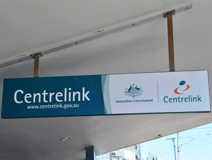Centrelink office.