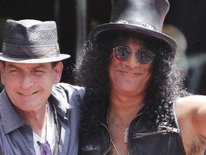 Slash receives star on Walk of Fame
