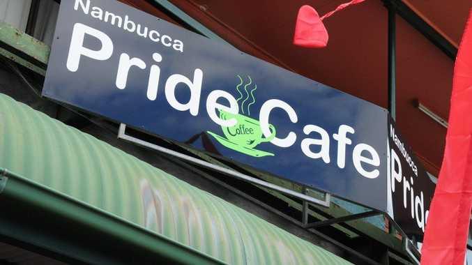 Pride Cafe, Nambucca. Photo: Rob Wright/ The Coffs Coast Advocate