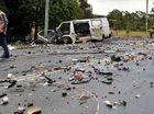 Man dies in horror collision
