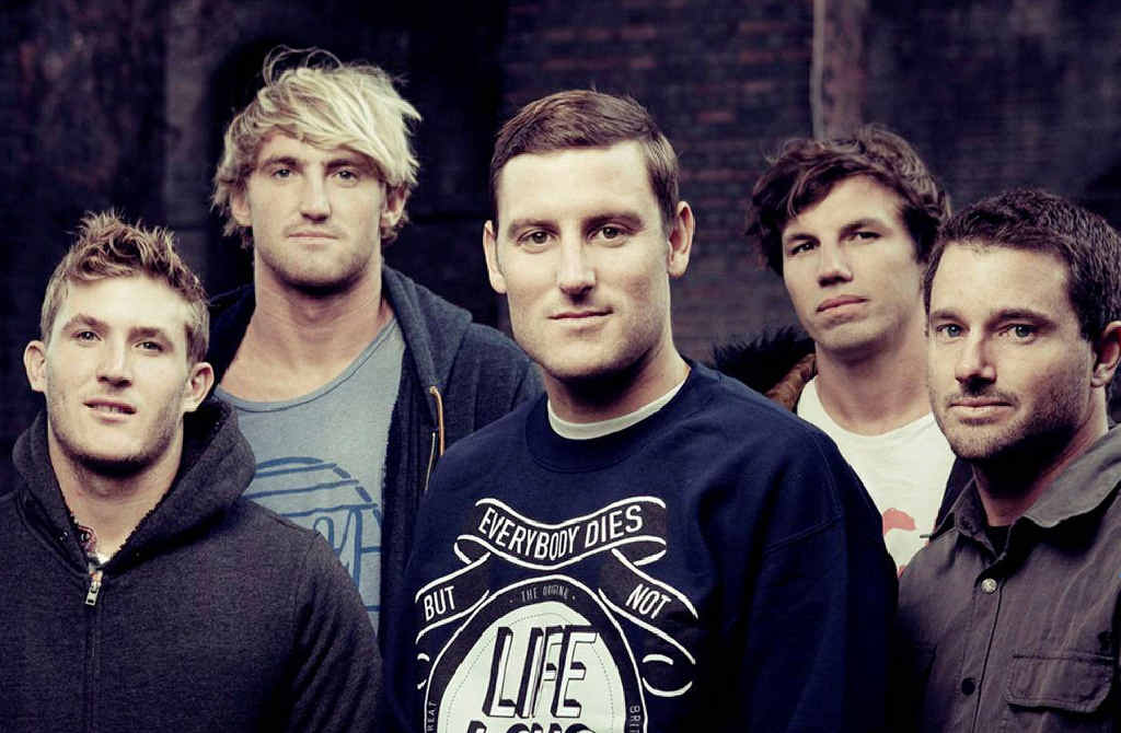 Parkway Drive's DVD, Home Is For The Heartless debuted in the top position after selling 4460 units this week.