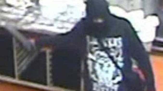 Police are hoping this man can help them with their inquiries into an armed robbery at an Alstonville bakery early on Monday morning