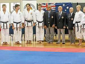 Childers hosts karate titles