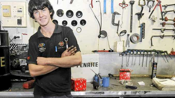 Tyrone Preston of Cumbalum is one of the top seven automotive apprentices in the country in the Snap-on Tools' Australia's Apprentice of the Year competition.