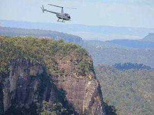 Flights take in Carnarvon Gorge