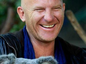 Celeb chef cuddles koalas on tour